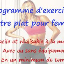 programme-exercice-ventre-plat-femme